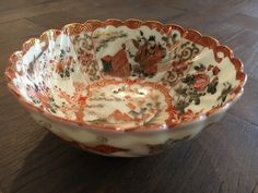 A personal favorite from my Etsy shop https://www.etsy.com/listing/467101544/antique-meiji-era-japanese-kutani-bowl