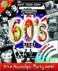 1960's party ideas | Host your own sixties party - 1960's party pack games & music