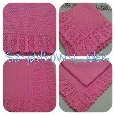 #kocyk #blanket #crochet #handmade #szydelko #rozowy