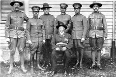 A Gift to the Nation: William B. Gould and His Six Enlisted Sons, 1917. On 9/21/1862, Gould escaped with seven other slaves by rowing a small boat 28 miles down the Cape Fear River and out into the Atlantic, where the USS Cambridge picked them up as contraband. He had a remarkable life, and left one of only three journals kept of wartime experiences by former slaves. All 6 of his sons enlisted in WWI. Read his story at the link, via Vielles Annonces of flickriver