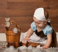 Beautiful and Magical Disney Inspired Baby Portraits / Pictures Cinderella
