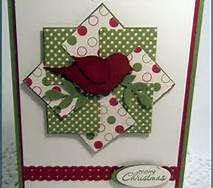 stampin up christmas stamps - Bird Punch