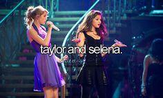 Imagem de selena gomez and Taylor Swift