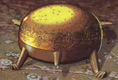 Sampo (Finnish Mythology/Kalevala) made flour, salt, and gold endlessly when bidden. It also had an evil nature.