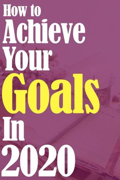 How to Achieve Goals in 2020: Learn how to achieve any goal with this 20 for 2020 goal setting strategy. Learn about goal setting examples to optimize your time and plan successfully. #planning #timemanagement #2020 #20for2020 #goal #goals #goalsetting #timemanagement #productivity #hustle Goal Setting Examples, When Life Gets Hard, How To Focus Better, Find Quotes, Mental Health Quotes, Mindfulness Quotes, Achieve Your Goals, Learning To Be, How To Stay Motivated