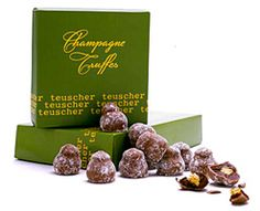 Teuscher Champagne truffles, a family weakness. Mother and sister also afflicted, Thanks dad.