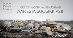 Äänestä vuoden kauneinta sormusta / Kilpailu - Häät.fi