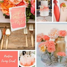 Pantone Living Coral. Coral Wedding Ideas for your Wedding at The Orchard at Chesfield #coralwedding #wedding #coral #coralweddingideas #weddingideas #weddingthemes #coralweddinginspiration