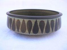 "Harrison McIntosh 7"" Bowl 1974 California Studio Art Pottery Stoneware"
