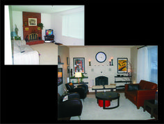 Family room transformation!