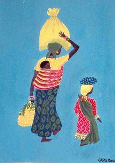 Africa painting - 40x50 cm (toile acrylique) - Oeuvre offerte lors d'une vente aux enchères au profit de l'association Enfance & Partage ©Claire Pimenta de Miranda/Toilesurlatoile  https://www.facebook.com/photo.php?fbid=121733351177960=a.121731101178185.15877.121699184514710=3