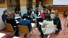 Colexio Marista Lugo @maristaslugo #compostelaenruta elixindo técnicas de cooperativo para o segundo trimestre no Colexio Santa María de Ourense