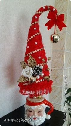 Бонсай топиарий ёлка Новый год Моделирование конструирование Мои елочки Материал природный фото 1