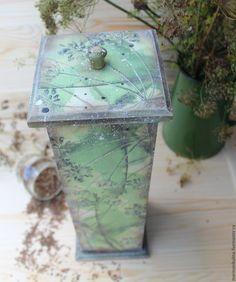 """Купить """"Укропчик"""" короб-спагетница - оливковый, зеленый, укроп, травы, пряные травы, душстые травы"""