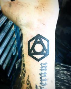 Tattoo #15 (2016): New ink on his left wrist | Source: Adam Lambert Instagram