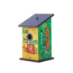 """""""where the heart is"""" birdhouse by painted peace - Thumbnail 4"""