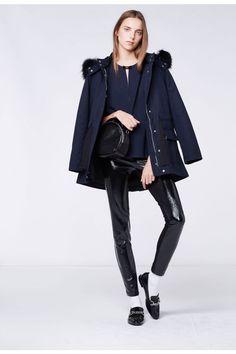 Manteau GALIA from Claudie Pierlot pre fall 2015 collection Cute Coats, Fall 3a62ea6deb5a