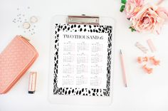 2016 Calendars  2016 Yearly Planner  Gifts For by HappyHouseBlog
