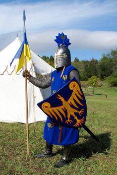Templar coat of arms Medieval Knight, Medieval Armor, Renaissance, Medieval Party, Armadura Medieval, Arm Armor, Fantasy Character Design, Chivalry, European History