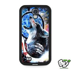 Dreamcatcher Wolf Samsung Galaxy S4 Case
