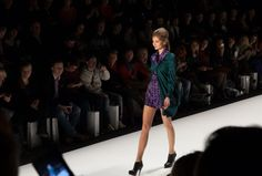 Mercedes-Benz Fashion Week Anja Gockel Show
