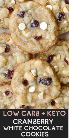 Delicious Cookie Recipes, Best Cookie Recipes, Low Carb Recipes, Dessert Recipes, Macadamia Nut Cookies, Chocolate Macadamia Nuts, Chocolate Chips, Ketogenic Desserts, Keto Snacks