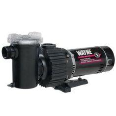 Wayne 1.5 HP Pool Pump-WIP150 at The Home Depot