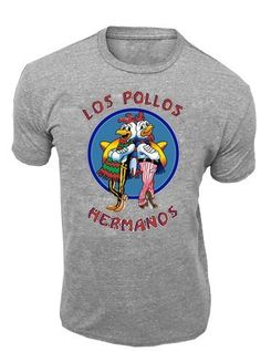 Breaking Bad Los Pollos Hermanos Logo Adult T-Shirt $8.00 (62% OFF)