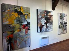 exhibition of paintings by Claire Merigeau from March 18 to April 2012 to Clemangis gallery Chalons en Champagne Abstract Styles, Abstract Art, Picasso Paintings, Inspiration Art, Art Moderne, Acrylic Painting Canvas, Abstract Expressionism, Modern Art, Cool Art