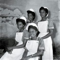 Ghanaian Nurses..1957 year of Independence