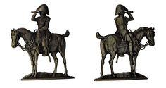 """El General Drouot (plano de estaño del estuche """"Figuras del Primer Imperio - 1804 - 1810"""" - Manufacture Historique de Soldats de Plomb - espesor 3,5 mm)"""