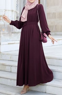 #hijab #hijabfashion #hijabstyle #hijaboutfit #muslim #fashion #hijaboutfit #hijabtutorial #middleeast #iranian #shopping Hijab Prom Dress, Hijab Style Dress, Modest Fashion Hijab, Modern Hijab Fashion, Muslim Women Fashion, Abaya Fashion, Fashion Dresses, Stylish Dresses For Girls, Dress Clothes For Women