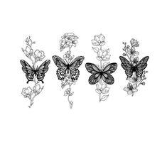 Dainty Tattoos, Pretty Tattoos, Cute Tattoos, Unique Tattoos, Small Tattoos, Dog Tattoos, Mini Tattoos, Flower Tattoos, Body Art Tattoos