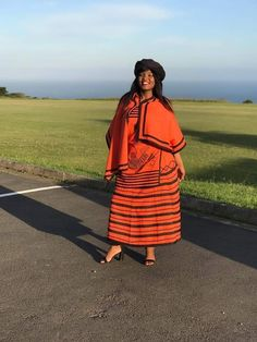 African Print Dresses, African Fashion Dresses, African Dress, African Clothes, Xhosa Attire, African Attire, African Traditional Wear, Traditional Outfits, Shweshwe Dresses