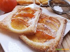 Sfogliatelle ai cachi  #ricette #food #recipes