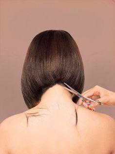 back of bob hair cut - Google Search