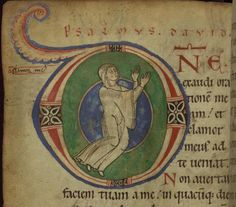 #ClippedOnIssuu from Claricia Psalter, Walters Art Museum MS. W.26