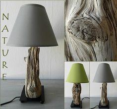 lámparas de madera flotaron - creaciones sobre el agua