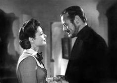 The Ghost and Mrs Muir.  Spirited romantic comedy stars Gene Tierney as a widow who moves into a haunted seashore house and, despite the warnings of her neighbors, shuns the attempts by sea captain spectre Rex Harrison to scare her away. 1947  The movie makers don't seem to know what romance is anymore.