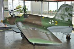 Luftwaffe Messerschmitt Me 163B-1a Komet . This amazing aircraft was one of…