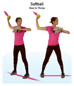 How to Throw a Softball | iSport.com