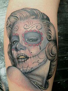 ~Sugar Skull Girl Marilyn Monroe~