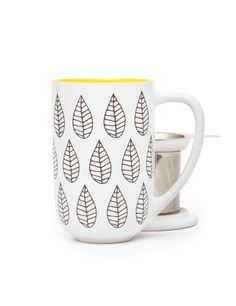 NORDIC MUG - COLOUR CHANGING: Enjoy the changing autumn colours in this heat sensitive Nordic Mug with infuser and lid.
