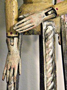 Santos Cage Doll hand