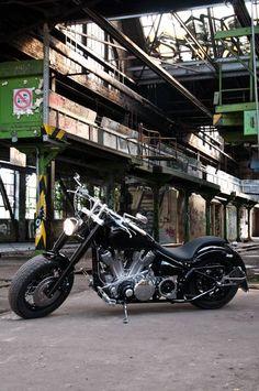 Yamaha roadstar custom build