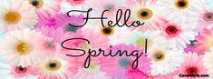 Hello Spring Facebook Covers, Hello Spring FB Covers, Hello Spring Facebook Timeline Covers, Hello Spring Facebook Cover Images