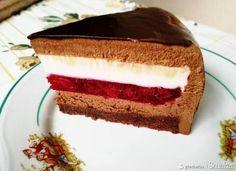 Tort czekoladowo wisniowy