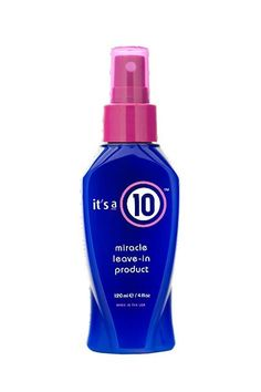 """30+ Drugstore Hair Products New York's Top Stylists SWEAR By  #refinery29  http://www.refinery29.com/cheap-drugstore-hair-products#slide-44   It's A 10 Miracle Leave-In Product """"This is a great everyday spray that smells amazing and is incredible at rebuilding damaged hair. It provides clients with a frizz-free, soft base for styling."""""""