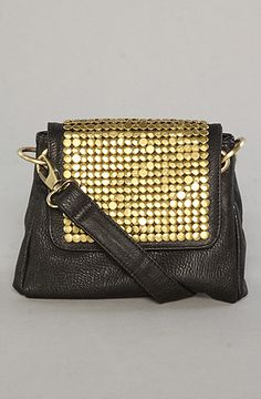 $43 The Hardware Detail Crossbody Bag by *Accessories Boutique on #karmaloop - Use repcode SMARTCANUCKS for 20% off - http://www.lovekarmaloop.com