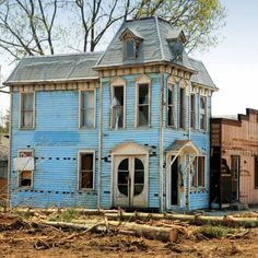 Abandoned homes tell a story. Whether or not the story is documented in history, each abandoned home gives us a glimpse at a life once lived. Abandoned Mansion For Sale, Old Abandoned Buildings, Abandoned Castles, Abandoned Mansions, Old Buildings, Abandoned Places, Second Empire, Old Barns, Country Barns
